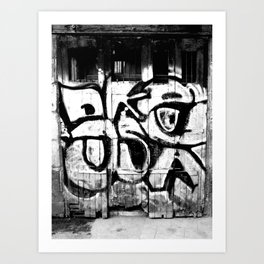 Doorway Art Print