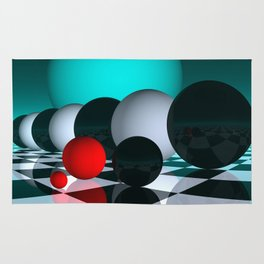 3 colors for your wall -6- Rug