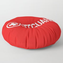 Lifeguard Floor Pillow