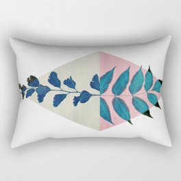 Geometry and Nature I Rectangular Pillow