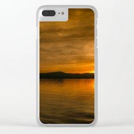 Belmont Beach Clear iPhone Case