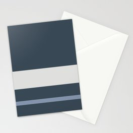 A mild package of Dark Grey Blue, Christmas Silver, Philippine Silver and Gray-Blue stripes. Stationery Cards