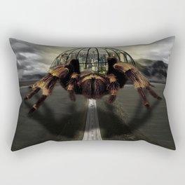 Spider City Rectangular Pillow
