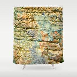 Rock Cunei Shower Curtain