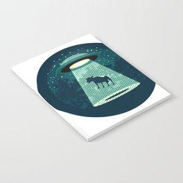 Beware UFO Notebook