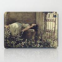 sleeping beauty iPad Cases featuring Sleeping beauty by annamalmberg