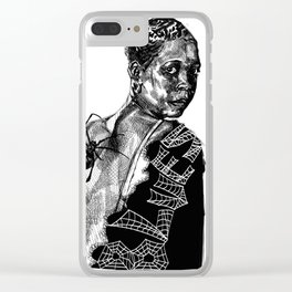 Blues Greats - Ethel Waters Clear iPhone Case