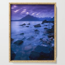 Cuillin Sunset Serving Tray