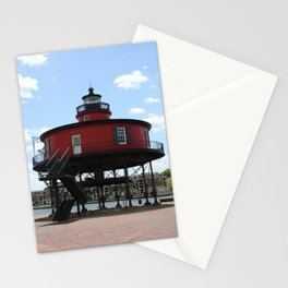 Seven Foot Knoll Lighthouse Stationery Cards