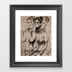 Seeing in Quattttro Framed Art Print