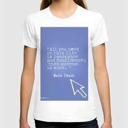 Mark Twain quote 5 T-shirt