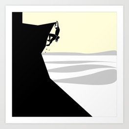 Climber Art Print