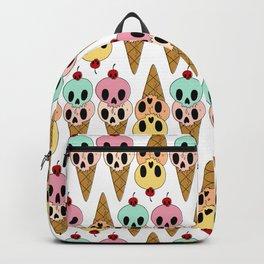 Skull Ice Cream Backpack