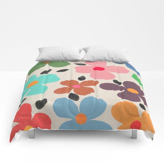 dogwood 1 Comforters