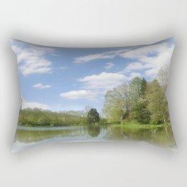Impression Lake Rectangular Pillow