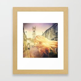 Deepening Skies Framed Art Print