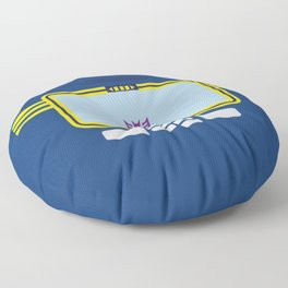 Soundwave Transformers Minimalist Floor Pillow