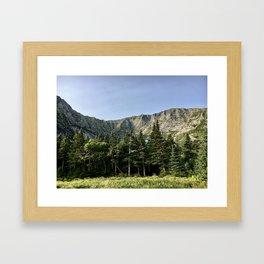 Mount Katahdin Framed Art Print