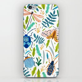 Bugs Pattern iPhone Skin