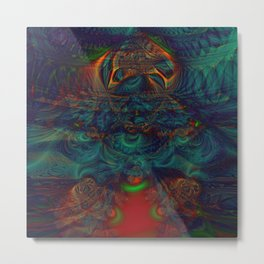 Trancelike State Psychedelic Metal Print