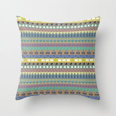 Berlin pattern Throw Pillow