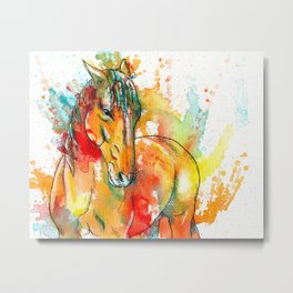 The Spirit of a Horse Metal Print