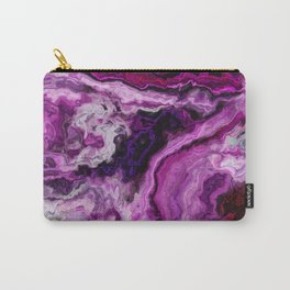 Purple marble m Carry-All Pouch