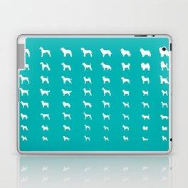 All Dogs (Aqua) Laptop & iPad Skin