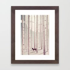 Serene Forest Framed Art Print