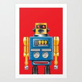 Hellobot 3 Art Print