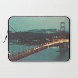 San Francisco Golden Gate Bridge, Sweet Light Laptop Sleeve