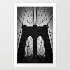To Brooklyn Art Print