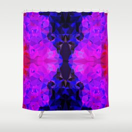 Pink Jewel Shower Curtain