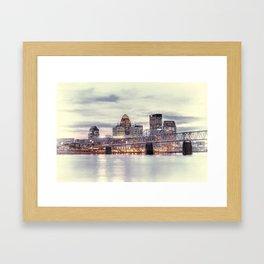Louisville Kentucky Framed Art Print