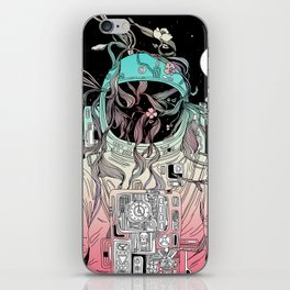 Life is Invading My Space iPhone Skin