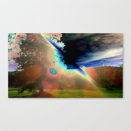 Solar Flare Canvas Print