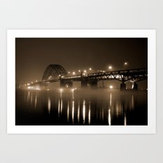Tacony Bridge Art Print