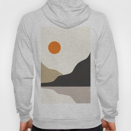 abstract minimal 47 Hoody