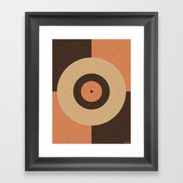 VINTAGE VINYL Framed Art Print
