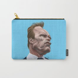 Arnold Schwarzenegger caricature Carry-All Pouch