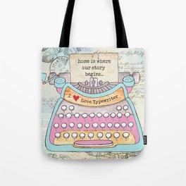 Typewriter #6 Tote Bag