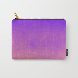 Pink and Purple Ombre - Swirly - Flipped Carry-All Pouch