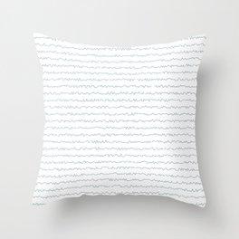 Your handwriting Throw Pillow