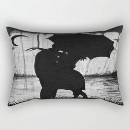 Meeting two hearts Rectangular Pillow