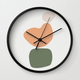 Shape Study #10 - Formation Wall Clock
