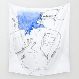 NUDEGRAFIA - 17  I am hope Wall Tapestry