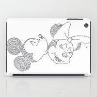 minnie iPad Cases featuring Mickey & Minnie by S. L. Fina