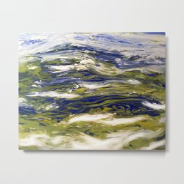 Earth Scape Metal Print