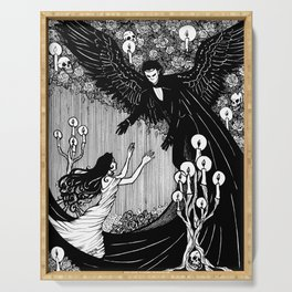 Angel of Music Serving Tray