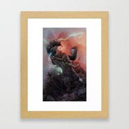 Robot 114 Framed Art Print
